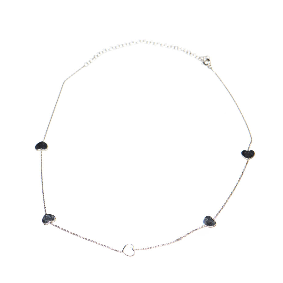 5 Star Necklace SIlver