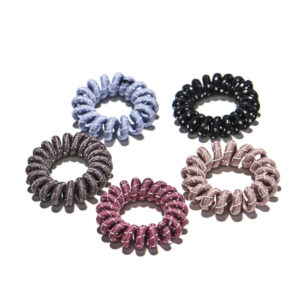 Cloth Spiral Hair Ties