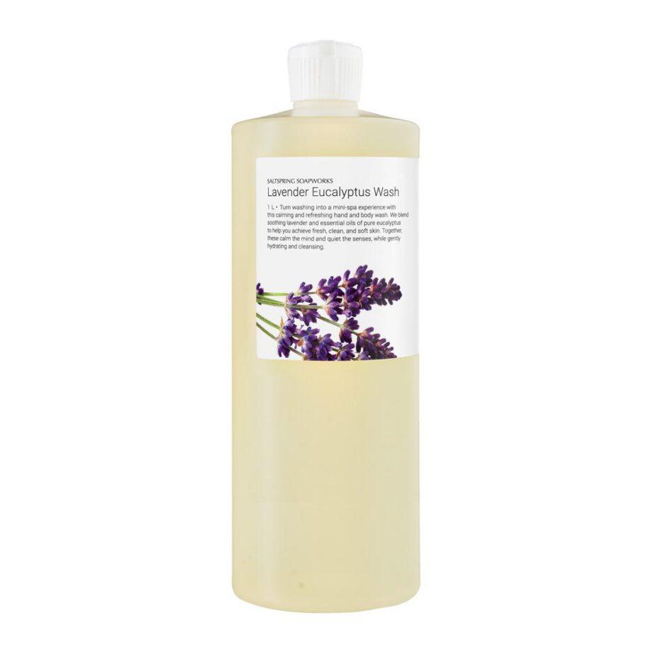 Lavender Eucalyptus Wash 1L