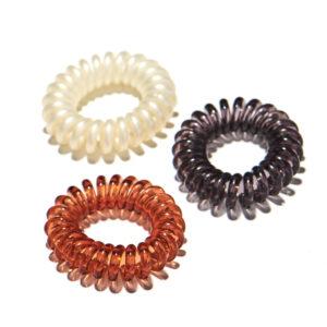 Plastic Spiral Hair Ties
