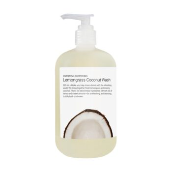 Lemongrass Coconut Body Wash