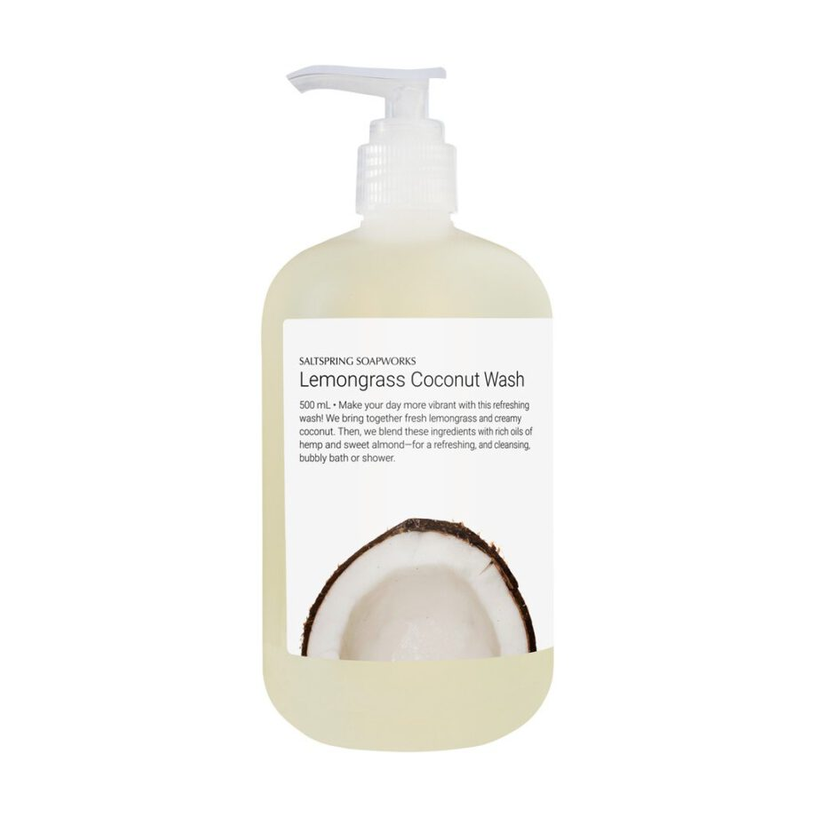 Lemongrass Coconut Body Wash