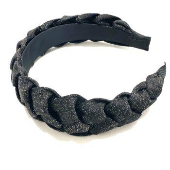 Braided Headband Black