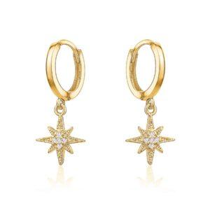 Mini Starburst Huggies - Gold
