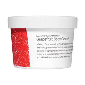 Saltspring Soapworks Grapefruit Body Gelato