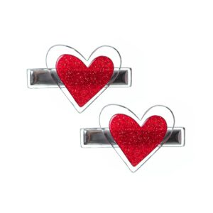 Red Heart Clip