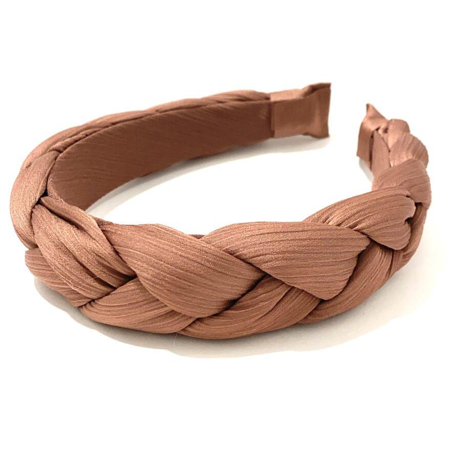 Braided Headband Rust