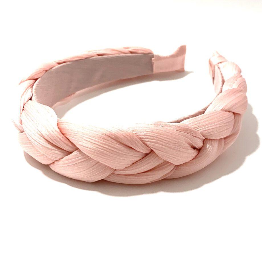 Braided Headband Pink