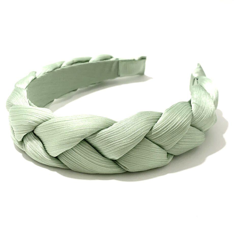 Braided Headband Mint