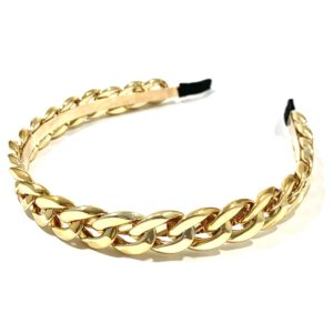 Gold Chain Headband