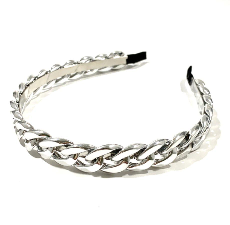 Silver Chain Headband