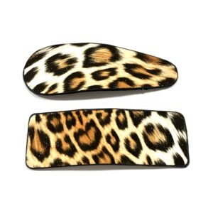 Leopard Snap Clip