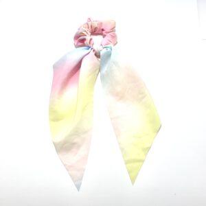 Tie Dye Scarf Scrunchie